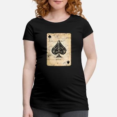 Ace Of Spades Poker card ace of spades - Maternity T-Shirt