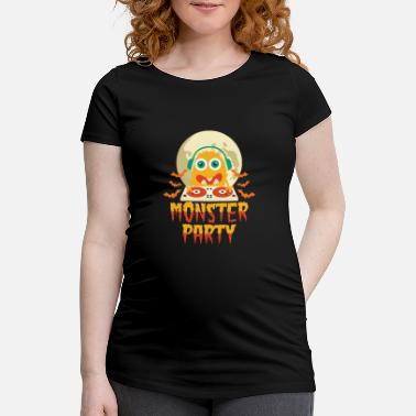 Party Monster Monster Party - Women's Pregnancy T-Shirt