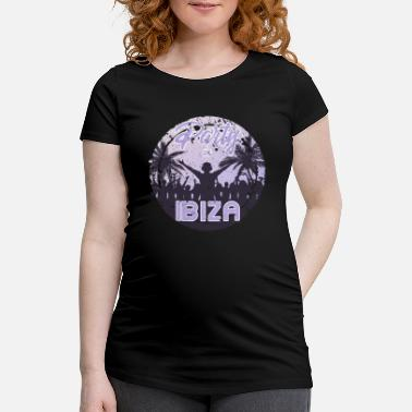 Spanien Party in Ibiza - Schwangerschafts-T-Shirt
