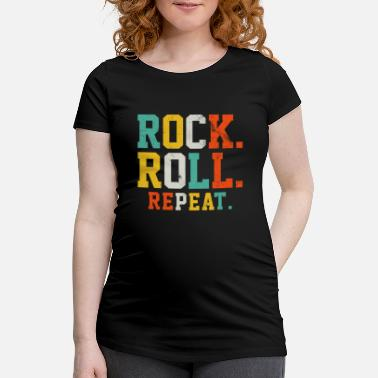 Rock And Roll Rock Roll Repeat - Rock and Roll Music Gift - Vente T-shirt