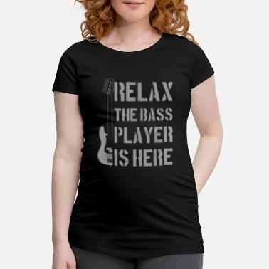 Bass Bass Quote Funny Bassist Gift - Maternity T-Shirt