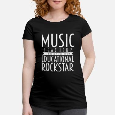 Music Teacher music teacher - Maternity T-Shirt