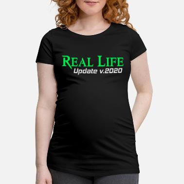 Internett Real Life Update Funny Gift Idea Game PC Nerd - Gravid T-skjorte