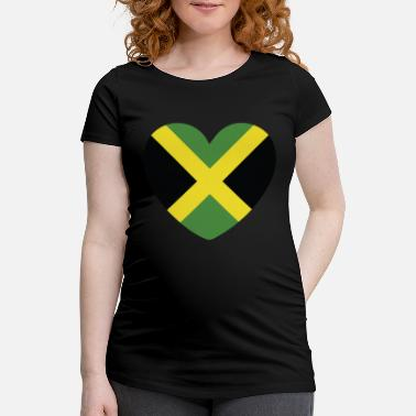 Jamaican Creole COOL JAMAICA FLAG DESIGN - Maternity T-Shirt