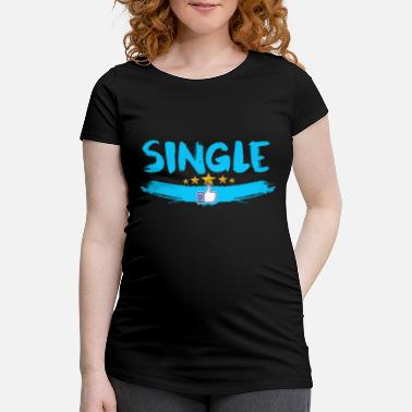 Single Single - T-shirt de grossesse