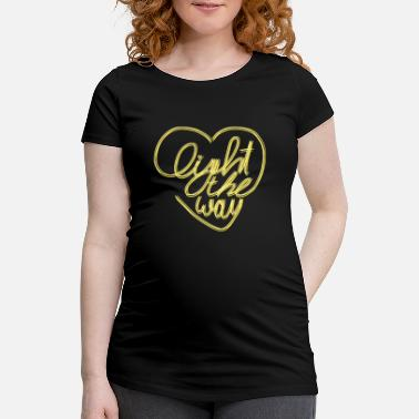 Light light - Maternity T-Shirt