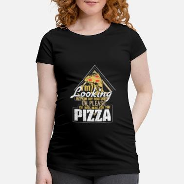 Pizza Brother pizza gift - Maternity T-Shirt