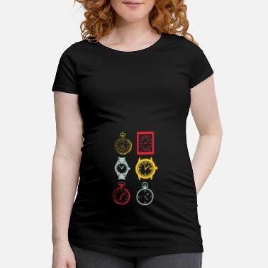 Watching Watches - Maternity T-Shirt