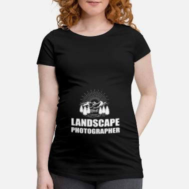 Landscape photographer gift photography - Maternity T-Shirt