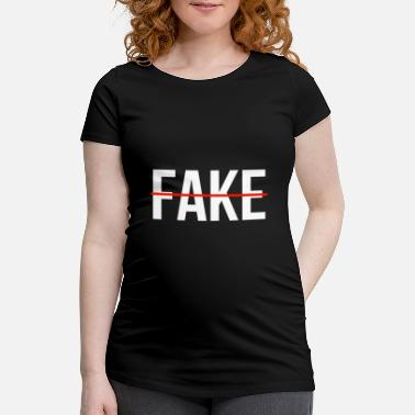 Fake fake - Maternity T-Shirt