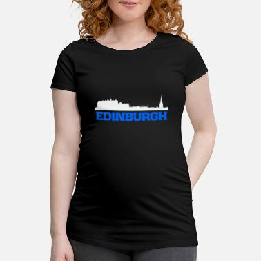 St Andrews Edinburgh Scotland skyline tee - Maternity T-Shirt