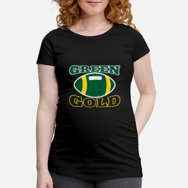 Green And Gold Green and Gold Green Bay Team fan - Maternity T-Shirt