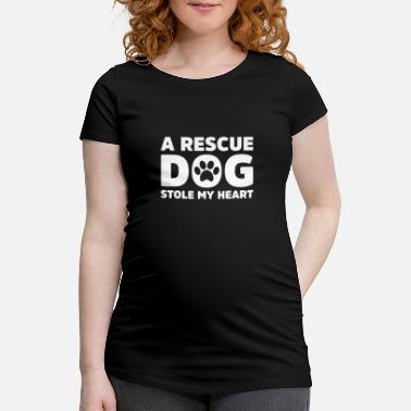 Rescue Dog Rescue Dog - Women's Pregnancy T-Shirt