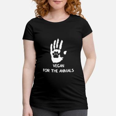 Animal Welfare Vegan - Animal Welfare - Gift - Nature - Maternity T-Shirt