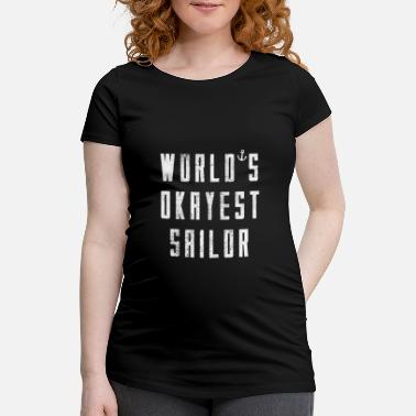 Sejl Worlds Okayesr Sailor T-Shirt gaveide sømand - Vente-T-shirt