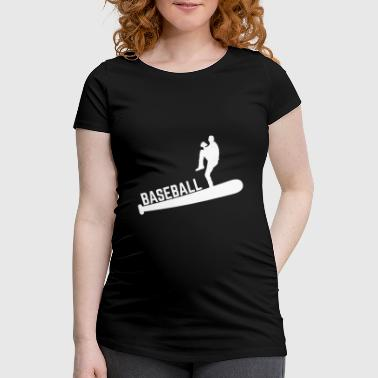 Baseball World Series Fan Shirt - T-shirt de grossesse Femme