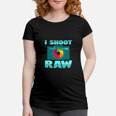 Camera Raw RAW - Women's Pregnancy T-Shirt