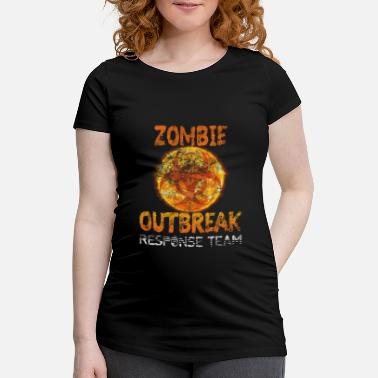 Team Gamer Zombie Outbreak Response Team Gamer Gift - Camiseta premamá