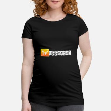 Wuppertal with formula - Maternity T-Shirt