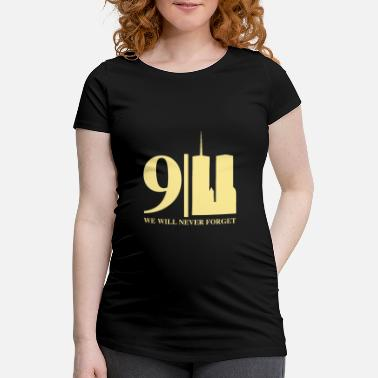 Twin Towers Patriot Day 9/11 - Maternity T-Shirt