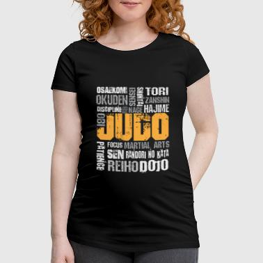 Judo special sports design - Women's Pregnancy T-Shirt