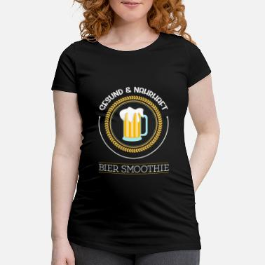 Brewery Beer smoothie healthy nutritious brewery beer garden - Women's Pregnancy T-Shirt