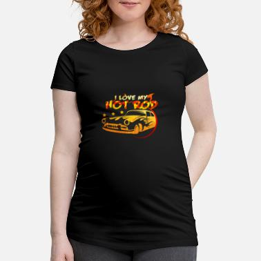 Hot Rod Hot rod - T-shirt de grossesse