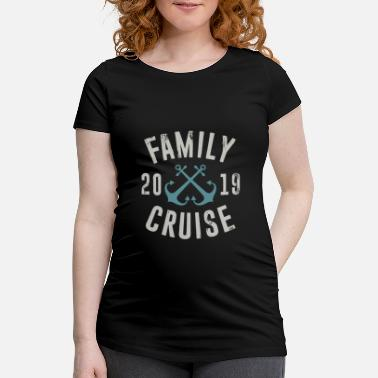 Family Vacation Family Cruise 2019 - Family Vacation Water Sea - Camiseta premamá