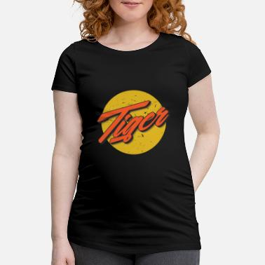 Tiger Style Tiger old style - Women's Pregnancy T-Shirt