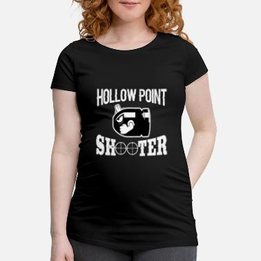 Online Egoshooter Online Gamer Design - T-shirt de grossesse