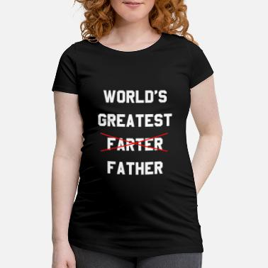 Greatest Worlds Greatest Farter - Gravid T-shirt