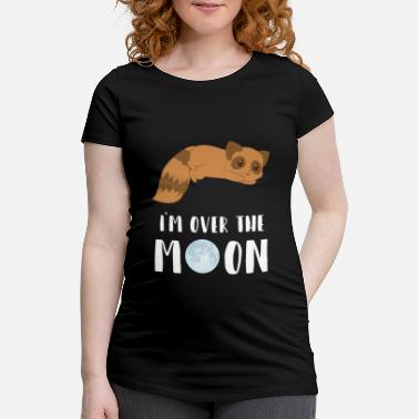 Raccoon Raccoon - Raccoon - Raccoon fan - Moon - Women's Pregnancy T-Shirt