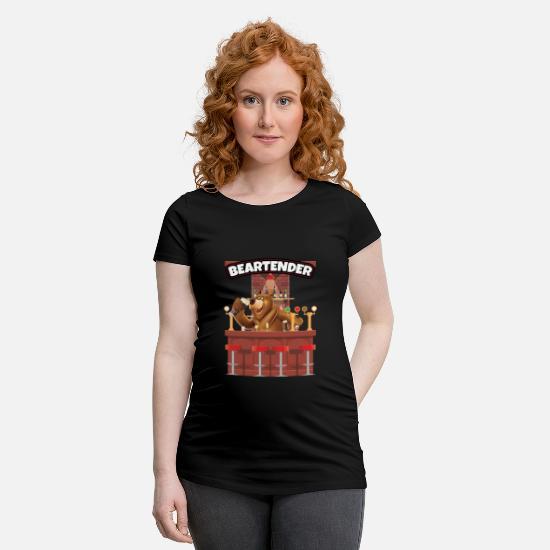 8b6fa17d Alcohol T-Shirts - Funny Bartender design Gift for Barman, Barmaid -  Maternity T