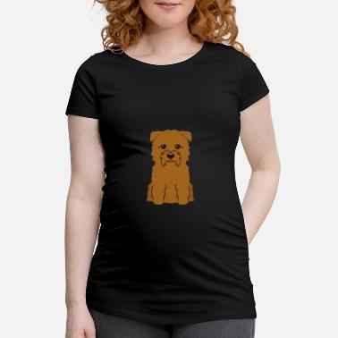 Lover Glen Of Imaal Terrier - Women's Pregnancy T-Shirt