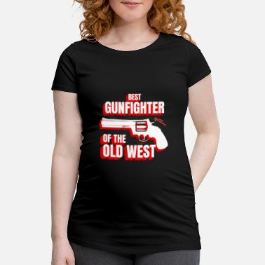 Revolutie Wild West Collection Beste Gunfighter Of Old West - Vrouwen zwangerschap-T-shirt