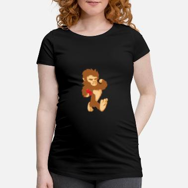 Big Foot Cadeau de chimpanzé Big Foot Big Foot - T-shirt de grossesse