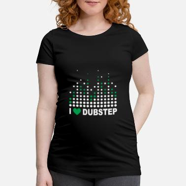 I Heart I Heart Dubstep - T-shirt de grossesse