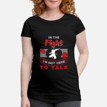 Ninjutsu Ninjutsu Jeg er ikke her for at tale Ninja Fan Gift - Vente T-shirt