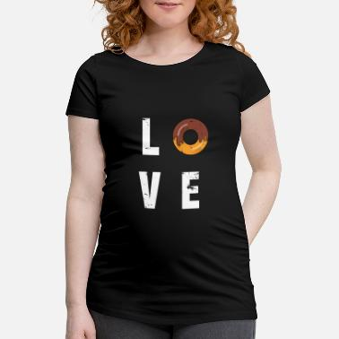 Cupcake Donut Love - T-shirt de grossesse
