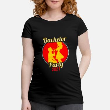 Bachelor Bachelor bachelor party - Maternity T-Shirt