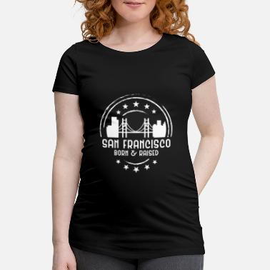 Staat San Francisco - Schwangerschafts-T-Shirt