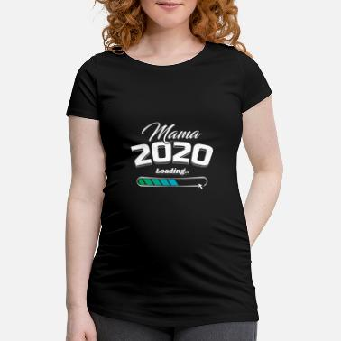 Mom loading 2020 Expectant mother pregnancy - Maternity T-Shirt