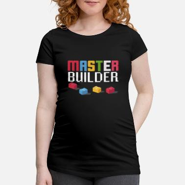 Fan Block Gift For Block Builder Fans Master Builder Fun - Maternity T-Shirt