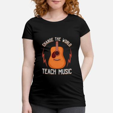 Kids Change The World: Teach Music Awesome Teacher - Vente T-shirt