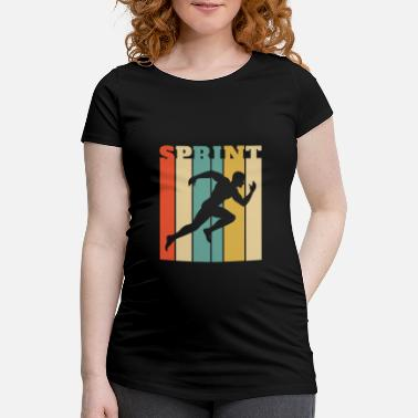 Sprint Conception de sprint pour un sprinter - SPRINT - T-shirt de grossesse