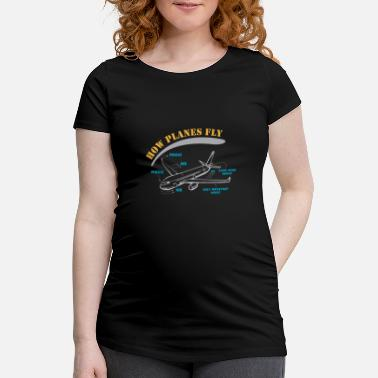 Flight Data Recorder Secret Revealed - How Planes Fly - Maternity T-Shirt