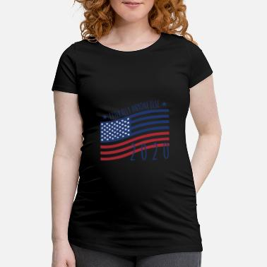 Wear Literally Anyone Else 2020-Anti Trump - Schwangerschafts-T-Shirt