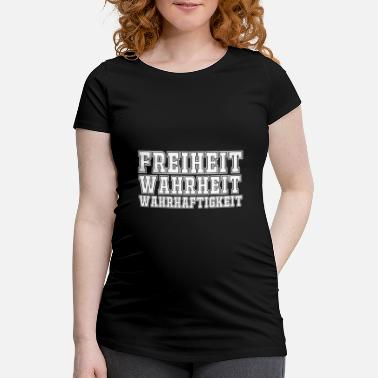 Truth Freedom truth truthfulness - Maternity T-Shirt