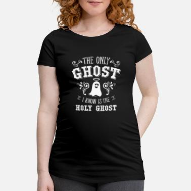 Religion Holy Ghost Anti Halloween Spirit Religion Gift - Maternity T-Shirt