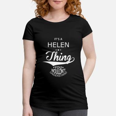 Helene Helen - Women's Pregnancy T-Shirt